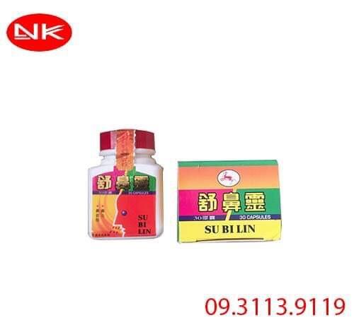 Su Bi Lin hỗ trợ điều trị viêm xoang
