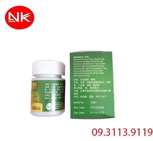 Mẩn Bì Nang giải độc hiệu quả