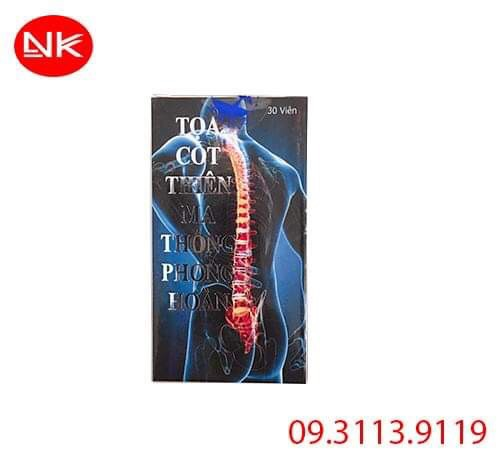 Tọa Cốt Thiên Ma Thống Phong Hoàn điều trị xương khớp