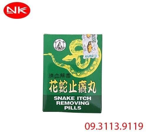Hoa Xà Chỉ Dưỡng Hoàn – Snake Itch Removing Pills