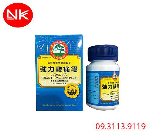 Specific lumbaglin - Cường lực toan thống linh plus