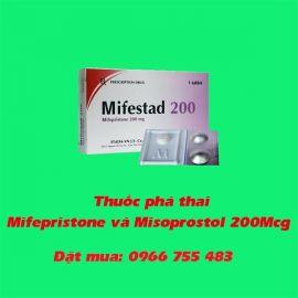 cảnh báo sử dụng thuốc phá thai Mifepristone và Misoprostol 200Mcg