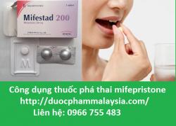 Công dụng thuốc phá thai mifepristone là gì?