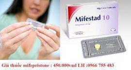 Giá thuốc phá thai mifepristone bao nhiêu