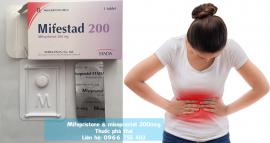 mifepristone & misoprostol 200mcg - Thuốc phá thai