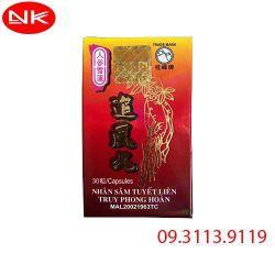 Nên mua Nhân Sâm Tuyết Liên Truy Phong Hoàn tại Hà Nội