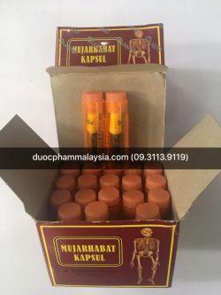 Tác dụng phụ của thuốc mujarhabat kapsul Malaysia.