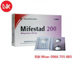 Thuốc phá thai khẩn cấp Misoprostol 200Mcg & Mifepristone
