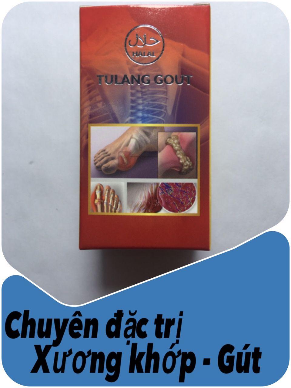 Viên thảo dược Tulang Gout đặc trị Gút, điều trị xương khớp từ Malaysia.